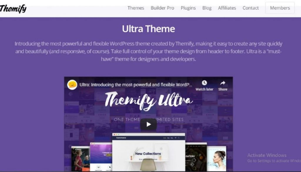 themify ultra review