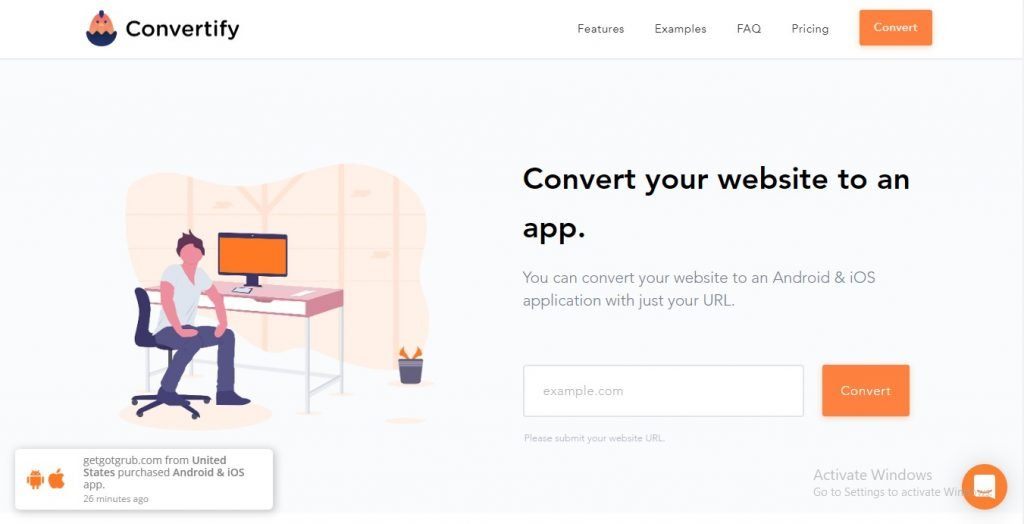 how to convert your website into an app